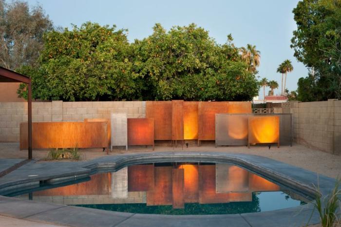 el jardin secreto imagenes acero piscinas paredes