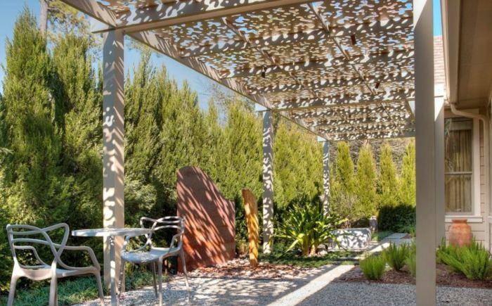 el jardin secreto imagenes pinos macetas colores