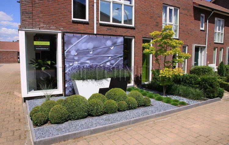 entradas jardines lados bloques minimos ladrillos