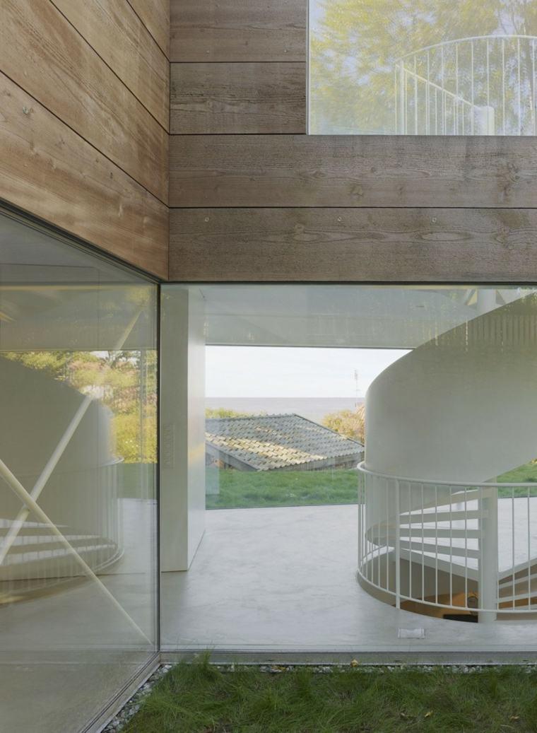 escaleras blancas disenos casa ideas