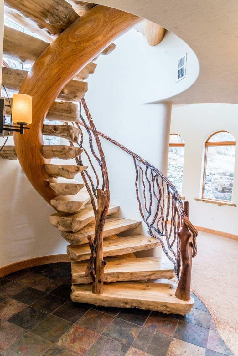 escaleras caracol original diseño