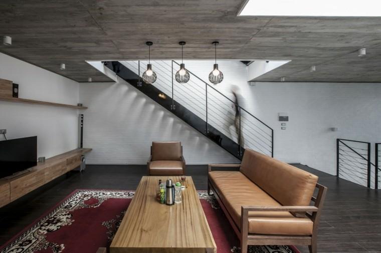 Escaleras de interior 74 dise os coloridos for Escaleras de salon