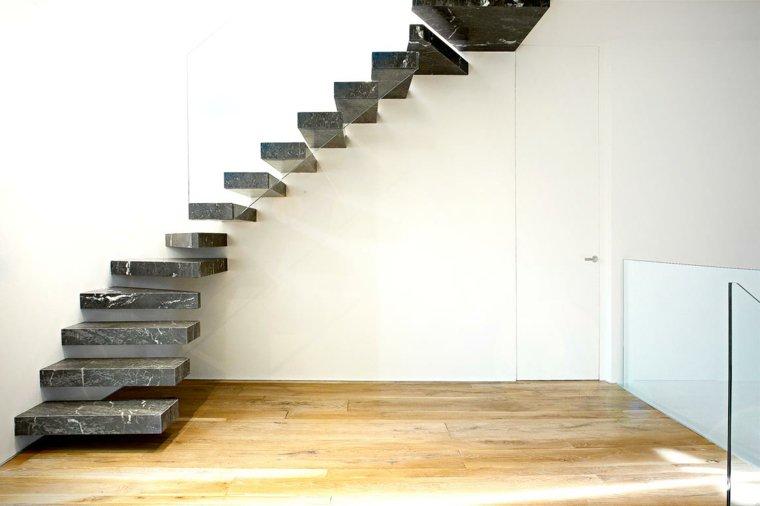 escaleras marmol opciones casa moderna ideas