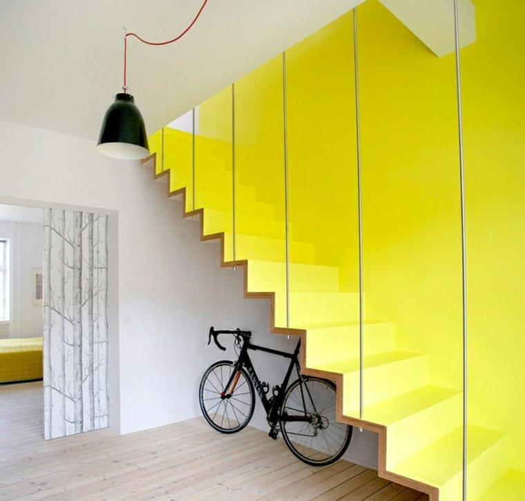escaleras opciones casa moderna amarillas ideas