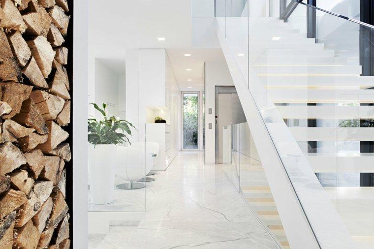 escaleras opciones casa moderna blancas ideas