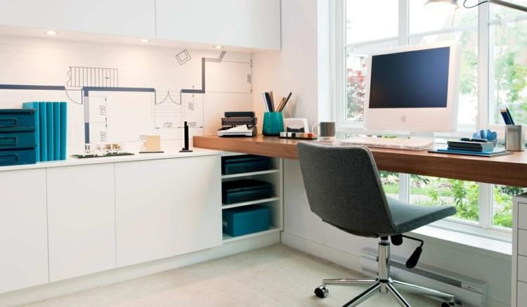espacio trabajo ambientes frescos plantas
