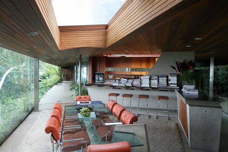 espacios amplio abierto comedor cocina ideas
