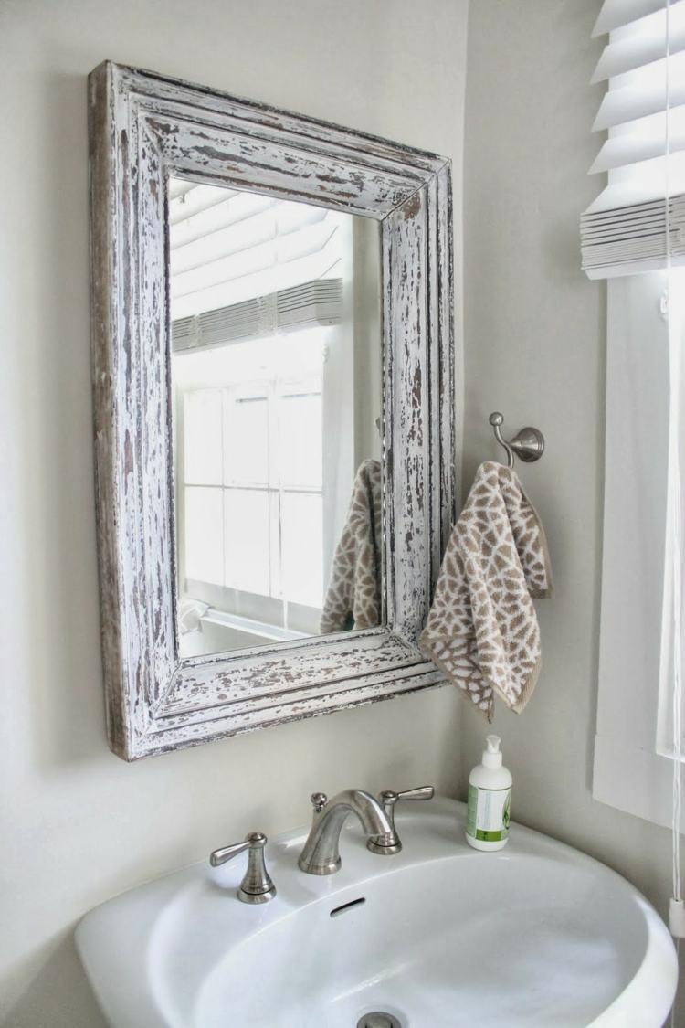 espejo estilo vintage shabby chic