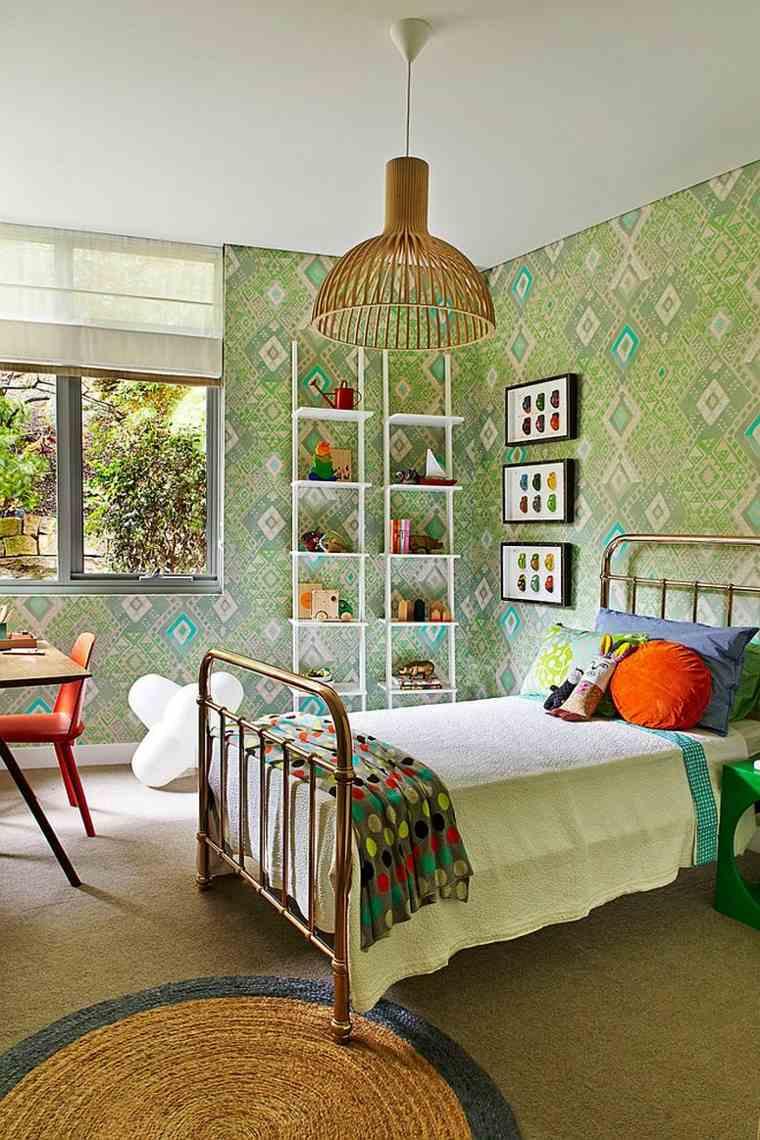 estanterías para habitaciones infantiles - 50 ideas geniales -