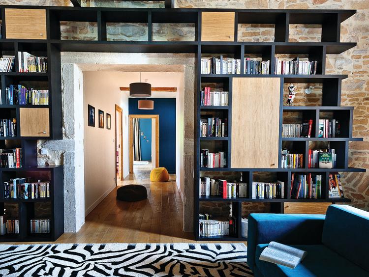 Optimizador de espacios 25 opciones de librerias - Librerias estanterias modernas ...