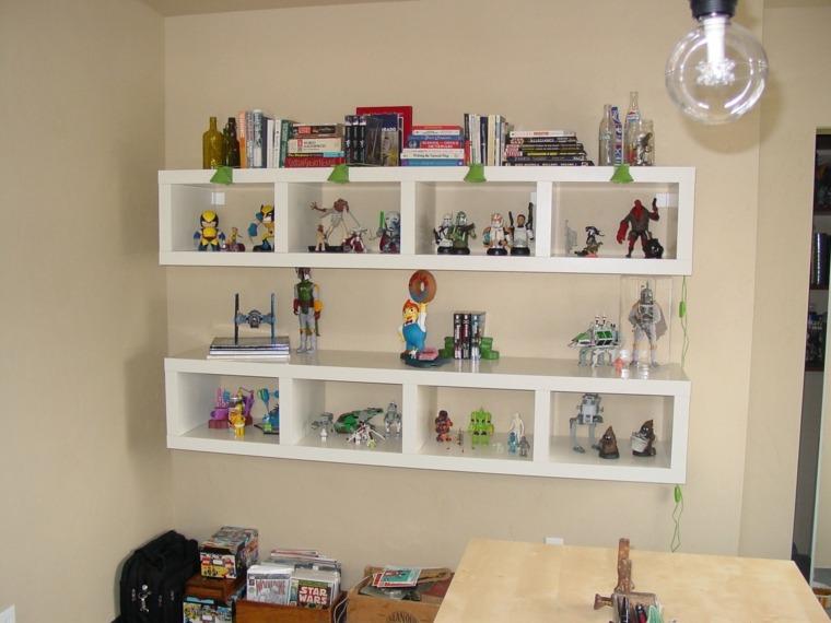 Estanter as para habitaciones infantiles 50 ideas geniales for Muebles para preescolar