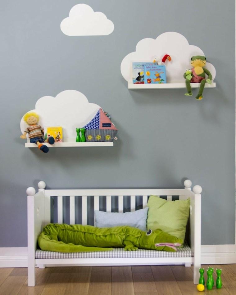Estanteras para habitaciones infantiles 50 ideas geniales