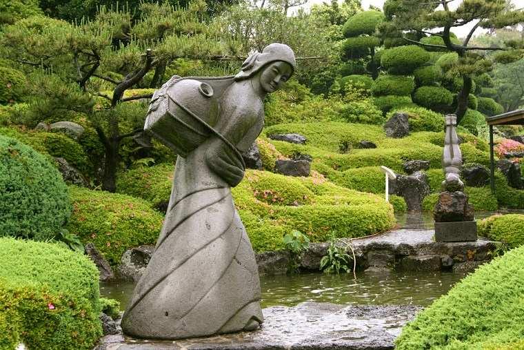 estatuas grandes jardin riachuelo ideas
