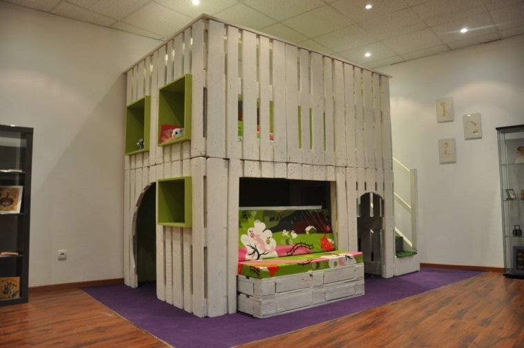 estructura modular cama cuarto infantil