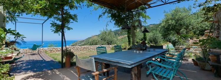 estupenda foto terraza italiana