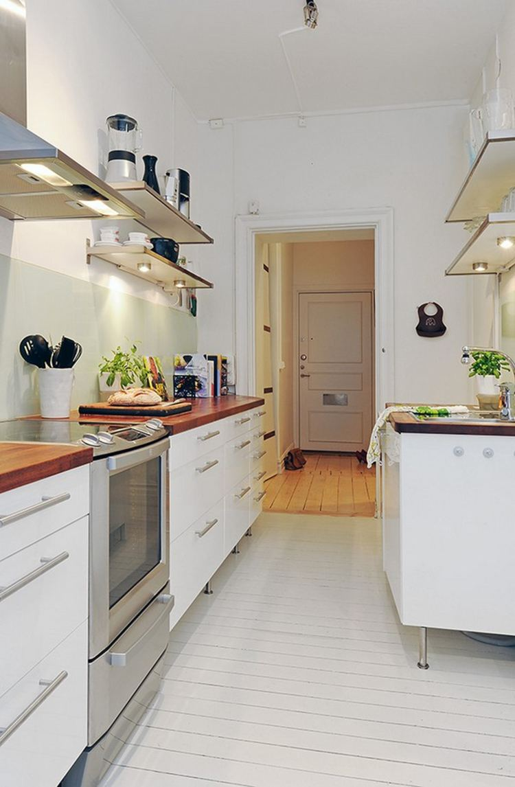estupenda cocina moderna pequeña