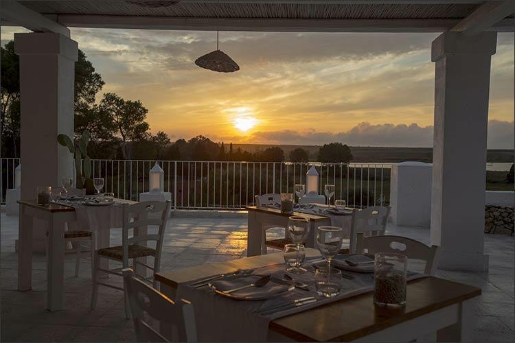 estupenda terraza vistas atardecer¡