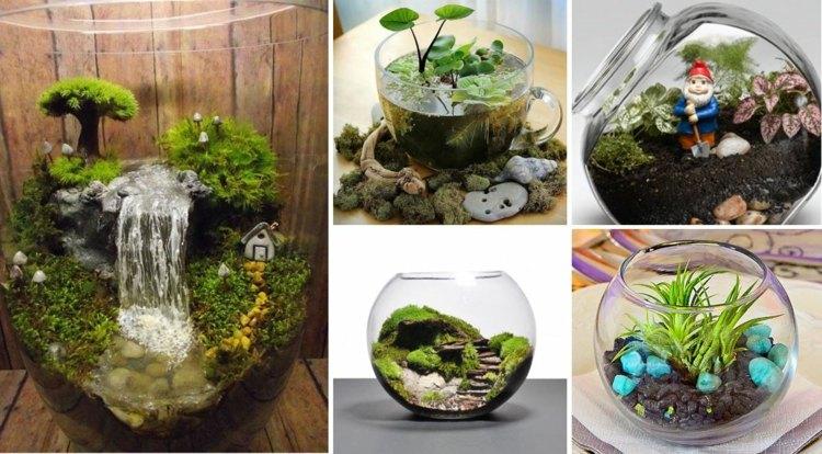 Decorar con manualidades de primavera 50 ideas for Decoracion para terrarios