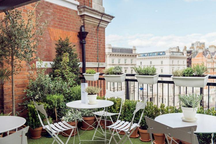 estupenda decoración terraza pequeña