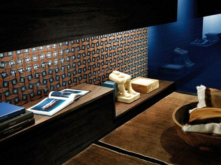 estupendo diseño formas mosaico