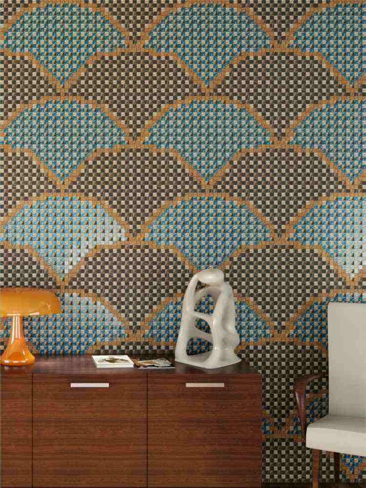 estupendo diseño mosaico moderno