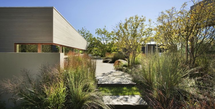 estupendos diseños paisajes jardines