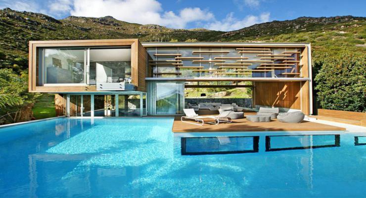 Fotos de piscinas alucinantes los dise os m s modernos for Casa moderna jardin d el menzah