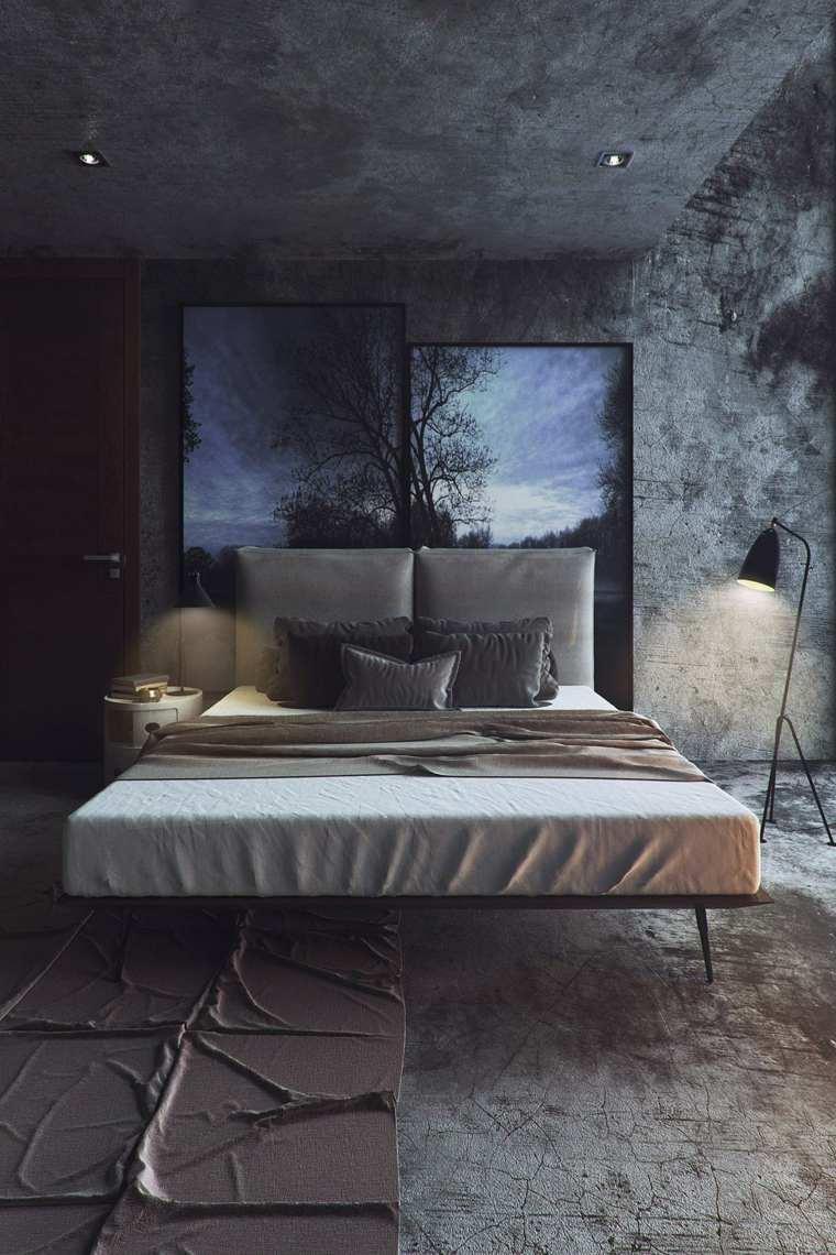 estupenda habitación estilo industrial