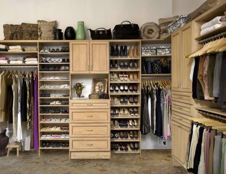 estupenda organizacion diseño armario