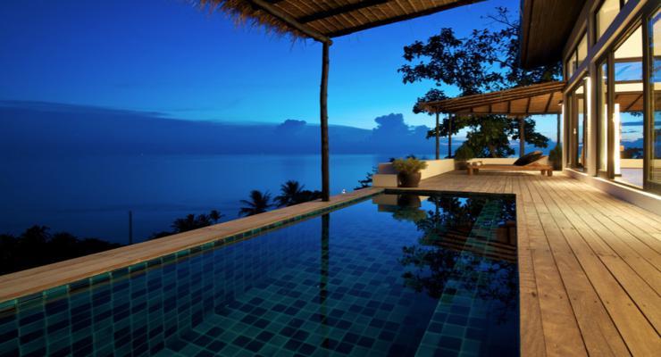 estupenda terraza moderna diseño