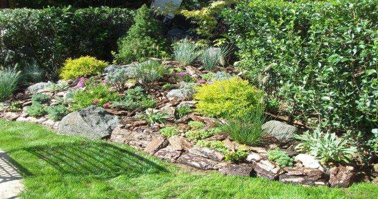 rocallas jardines piedras grandes