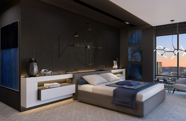 estupendo diseño habitación juvenil moderna