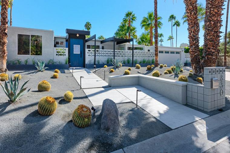 estupendo jardín estilo moderno