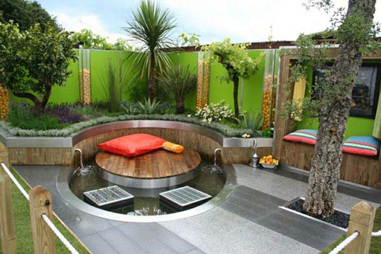 estupendo jardin estilo modenro
