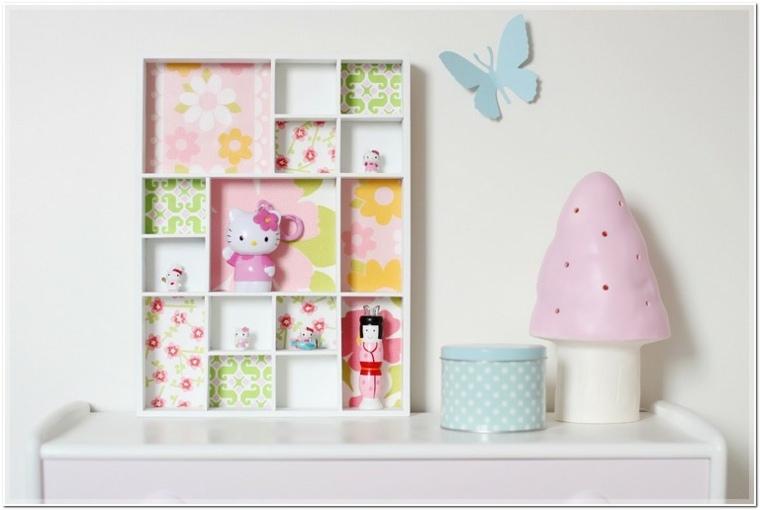 Estanter as para habitaciones infantiles 50 ideas geniales - Objetos decorativos modernos ...