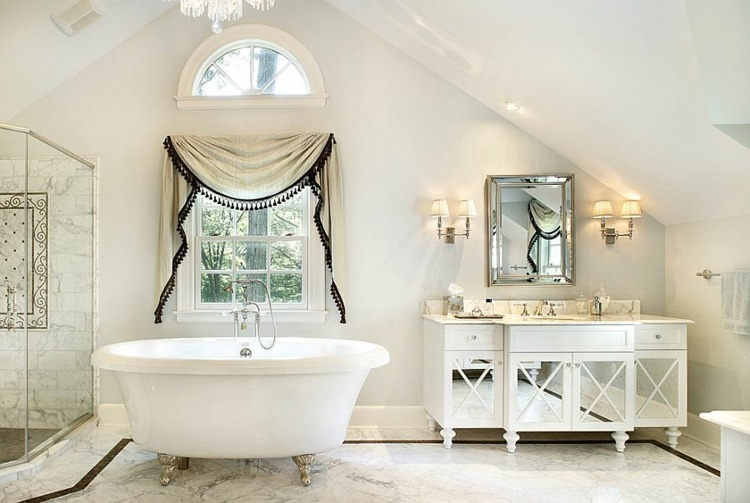 estupendos diseños baños estilo shabby