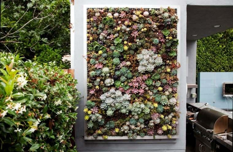 estupendos diseños jardines verticales modernos