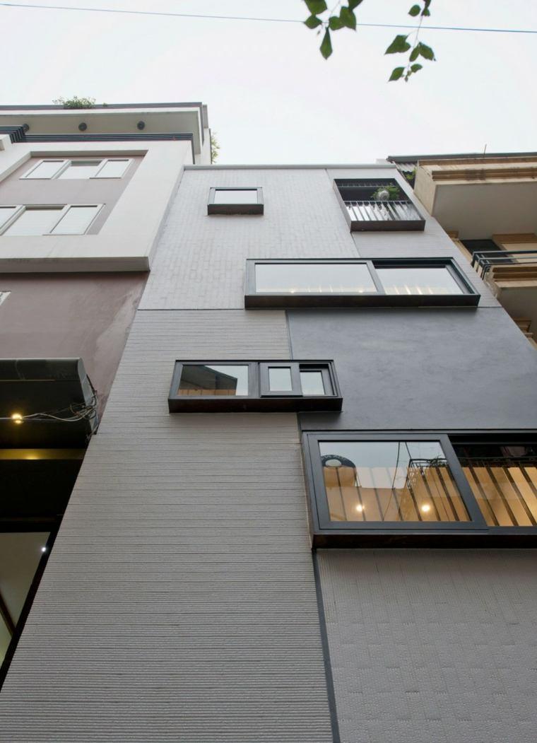 fachada apartamento ventanas opciones ideas