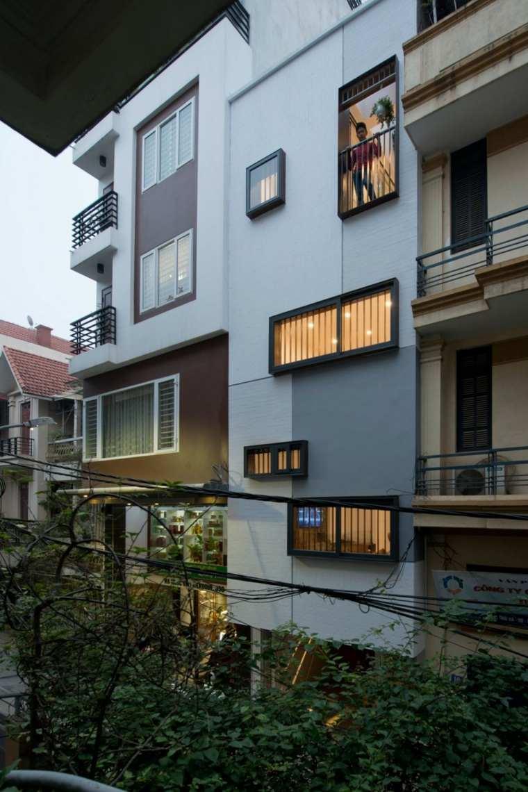 fachada apartamentos balcones opciones ideas