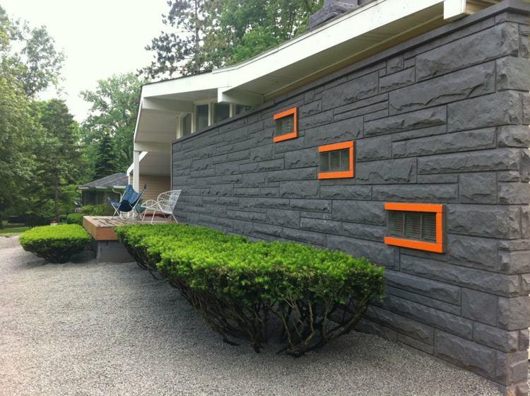 fachadas y jardines estilo moderno