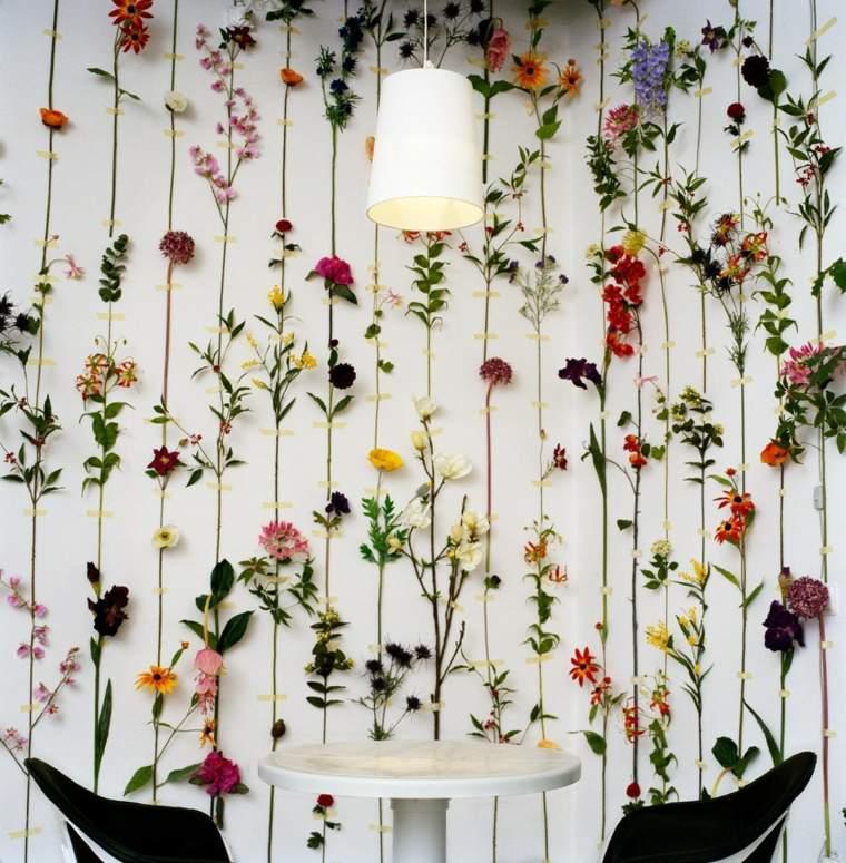 flores de primavera opciones pared casa gruirnaldas flores opciones ideas