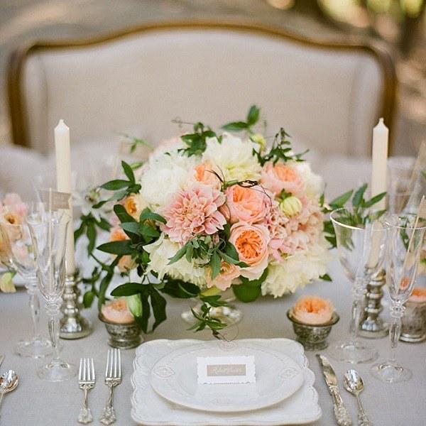 flores preciosas boda primavera original centro ideas