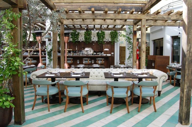 Muebles jardin diseno italiano