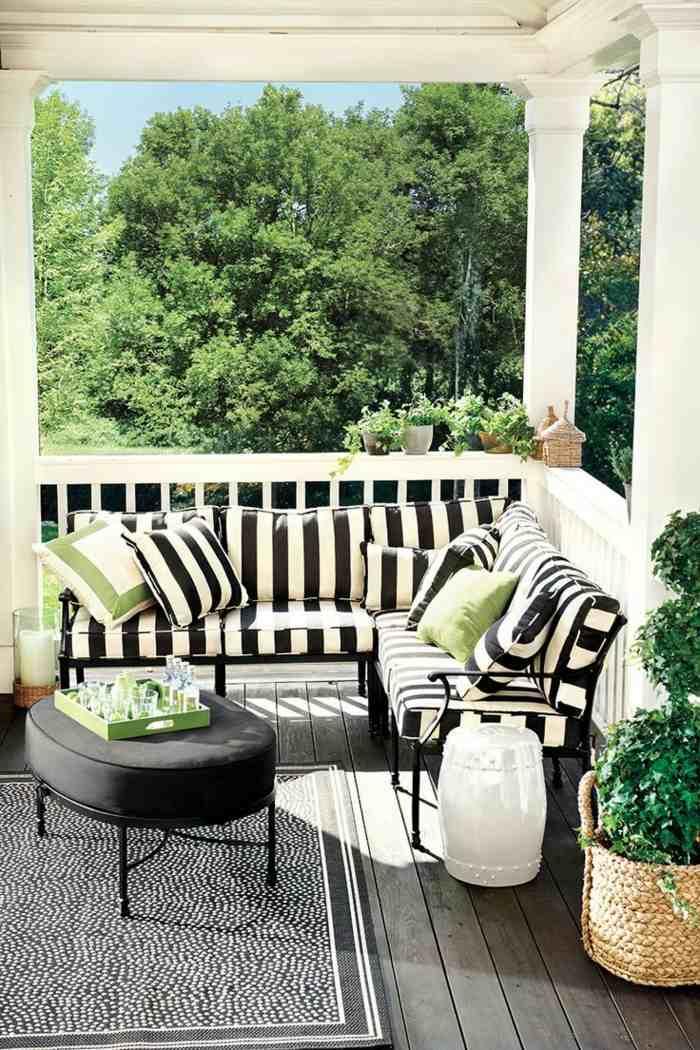 fotos primavera verano terraza opciones alfombra ideas