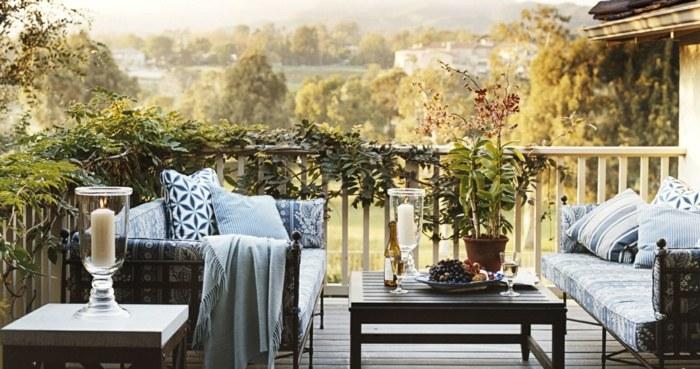 fotos primavera verano terraza plantas trepadoras ideas