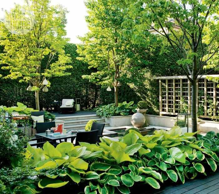 fotos primavera verano terraza plantas verdes macetas ideas