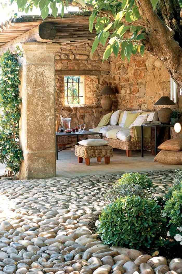 fotos verano primavera terraza estilo provenzal ideas