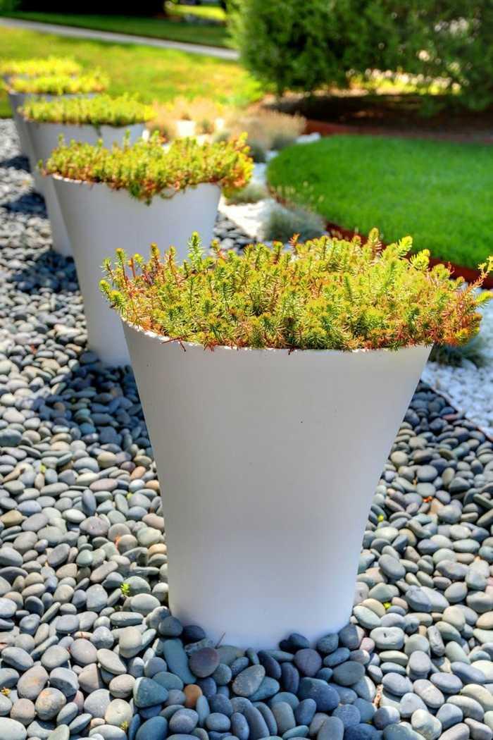 fotos verano primavera terraza macetas baldos ideas