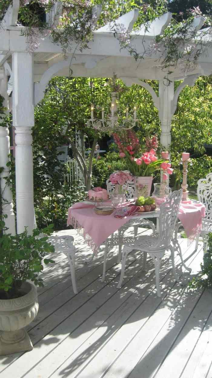 fotos verano primavera terraza muebles diseno victoriano ideas