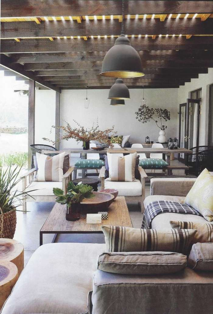Fotos primavera y verano en la terraza 25 ideas deco for Pinterest outdoor garden rooms